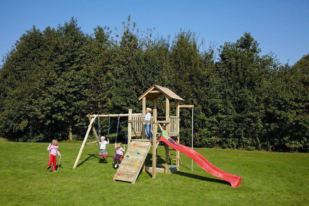 Dein Spielplatz Spielturm, mit Rutsche, pink, »Pirate & Princess 5«
