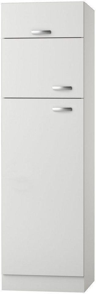 Kühlumbauschrank »Lagos, Höhe 206,8 cm« in weiß