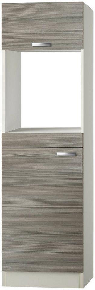Kombinierter Backofen-Kühlumbauschrank »Vigo, Höhe 206,8 cm« in piniefarben nougat