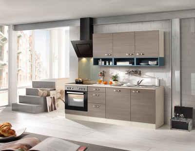 OPTIFIT Küchenzeile mit E-Geräten »Vigo, Breite 210 cm« Sale Angebote