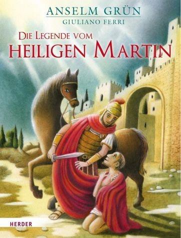 Gebundenes Buch »Die Legende vom heiligen Martin«