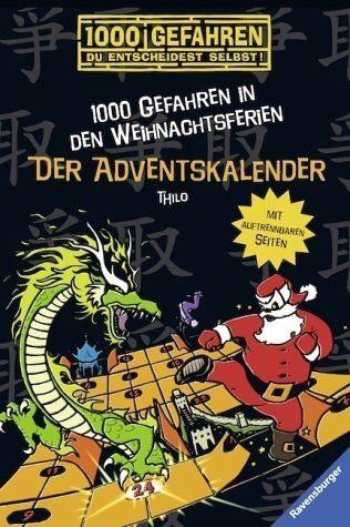Broschiertes Buch »Der Adventskalender - 1000 Gefahren in den...«