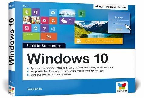 Broschiertes Buch »Windows 10 - Schritt für Schritt erklärt«