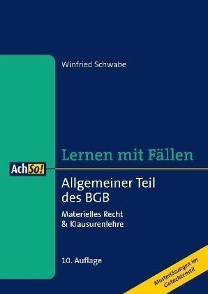 Broschiertes Buch »Allgemeiner Teil des BGB«