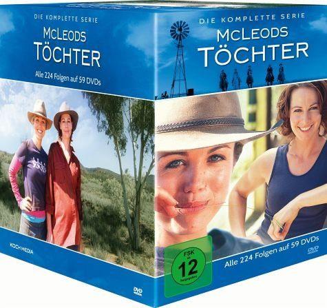 DVD »McLeods Töchter - Die komplette Serie (59 Discs)«