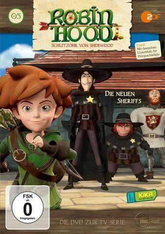 DVD »Robin Hood: Schlitzohr von Sherwood - Die...«