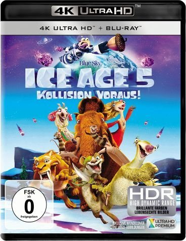 Blu-ray »Ice Age 5 - Kollision voraus! (4K Ultra HD +...«