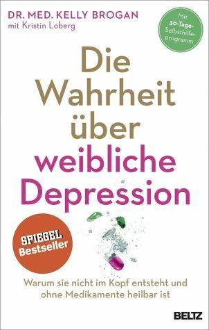 Broschiertes Buch »Die Wahrheit über weibliche Depression«