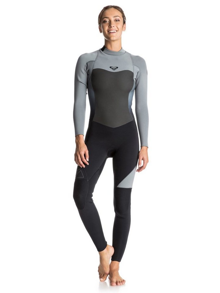 Roxy Back Zip Wetsuit »Syncro 5/4/3mm« in Anthracite