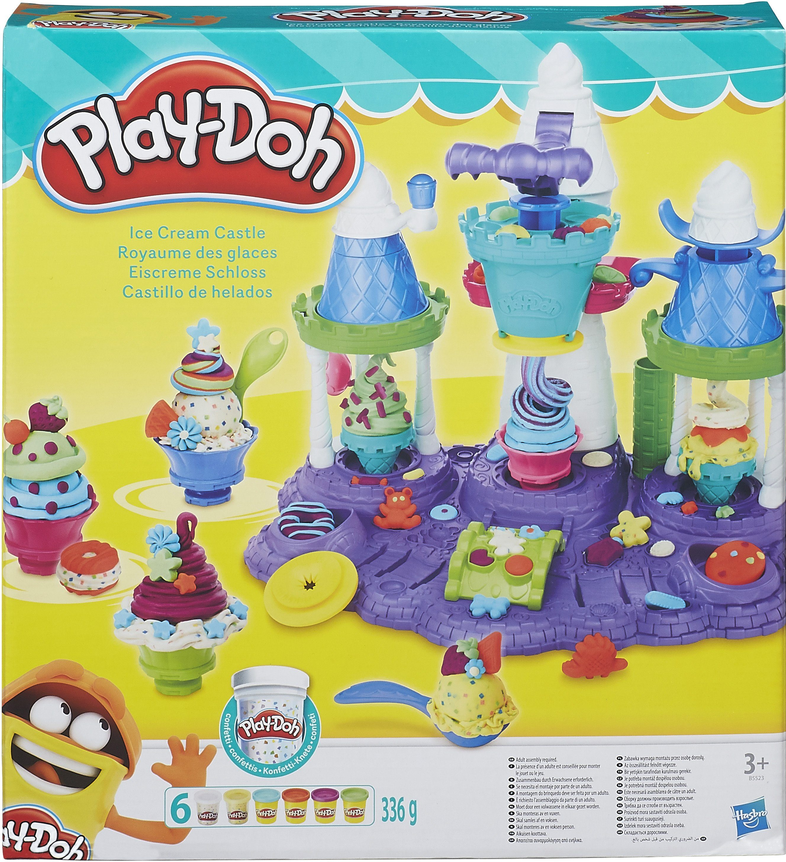 Hasbro Knetset, »Play-Doh, Eiscreme Schloss«