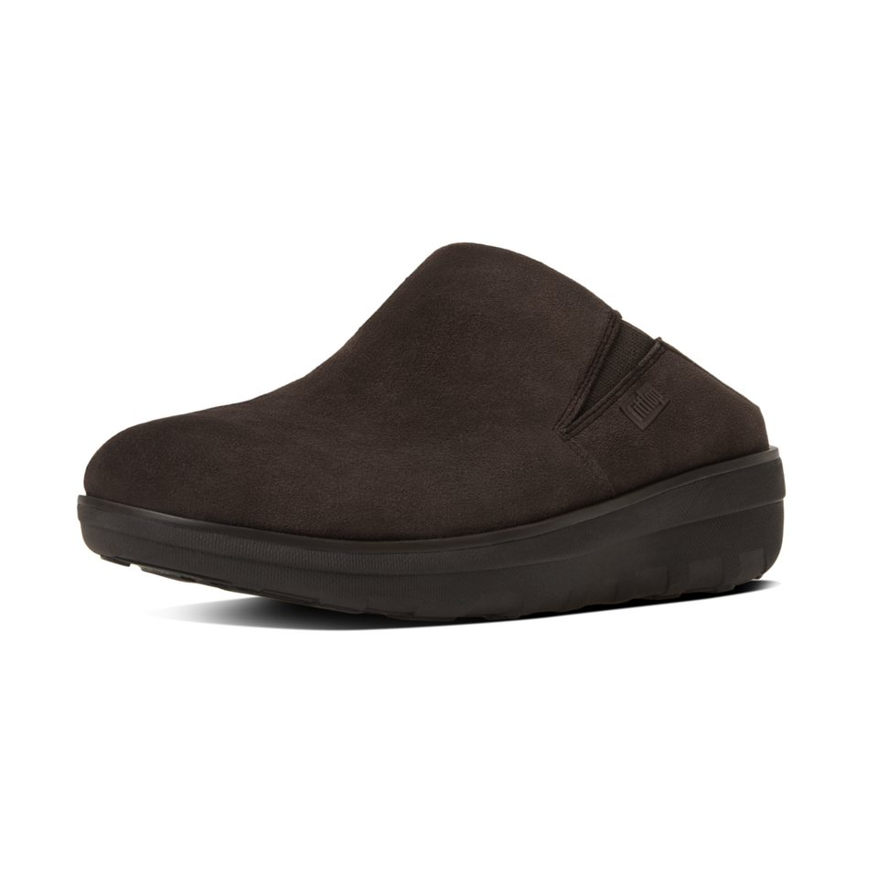 FitFlop »FitFlop LOAFF SUEDE CLOGS Black« Clog in braun