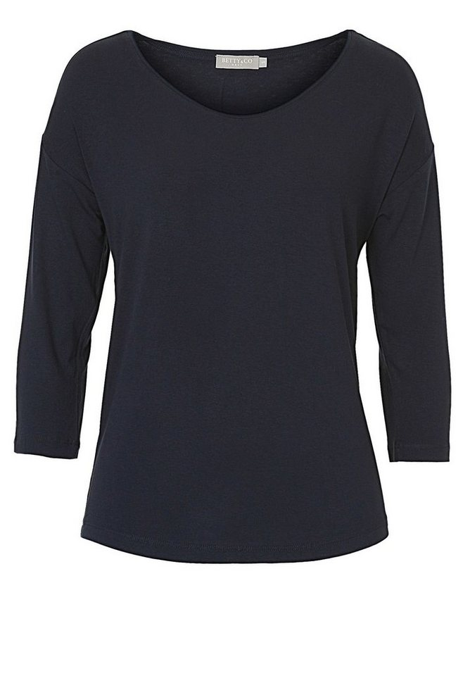 Betty&Co Shirt in Dunkelblau - Blau