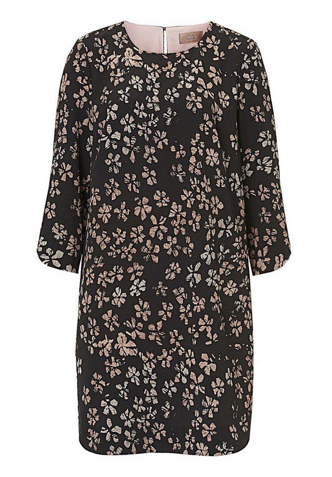 Cartoon Kleid in Black/Rosé - Grau