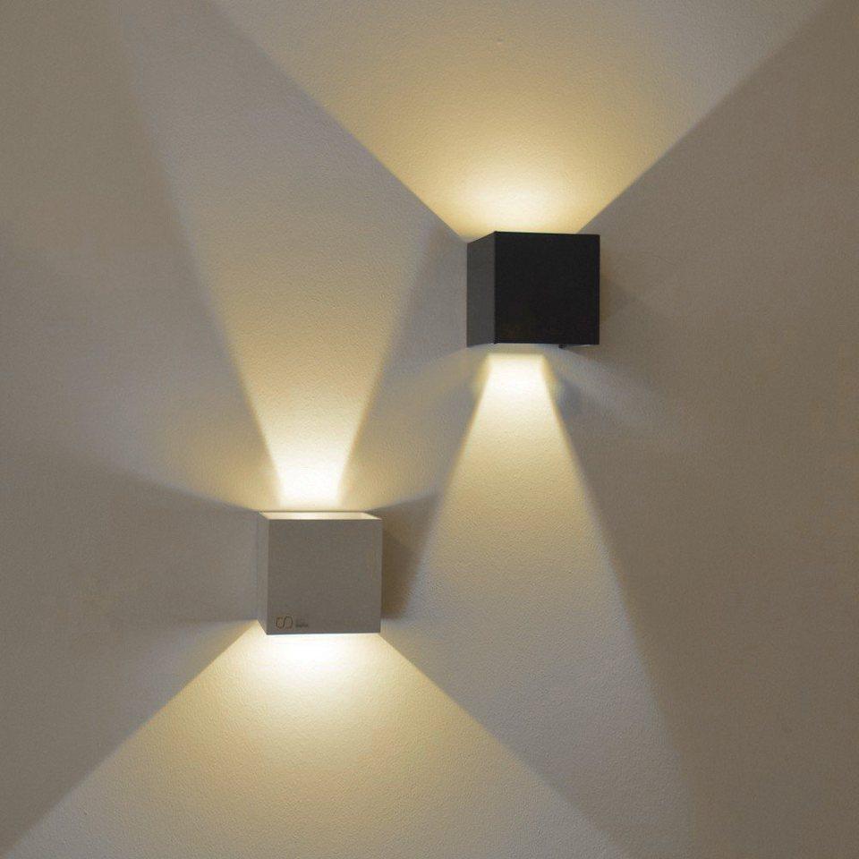 s.LUCE Wandleuchte »Ixa LED in Weiss« in Weiß