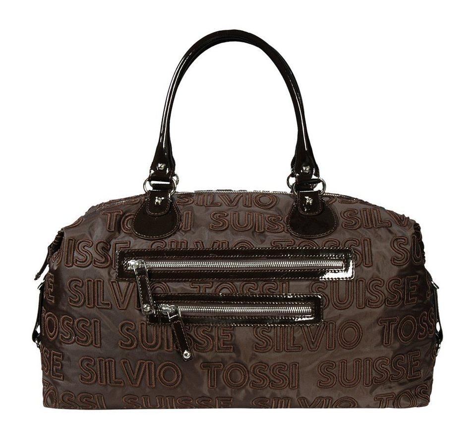Silvio Tossi Handtaschen in Dunkelbraun