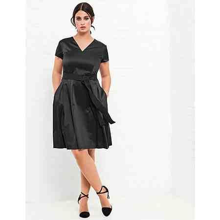 Samoon Kleid Langarm kurz »Hochwertiges Kleid«
