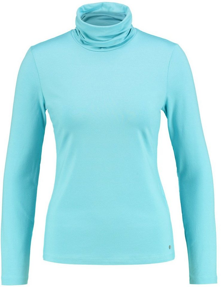 Gerry Weber T-Shirt Rollkragen »Langarmshirt mit Rollkragen« in Aqua