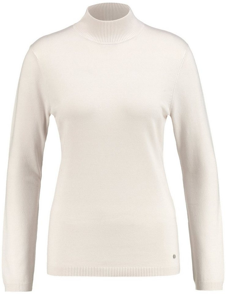 Gerry Weber Pullover Langarm Turtle »Pullover mit Turtle-Neck« in Ivory