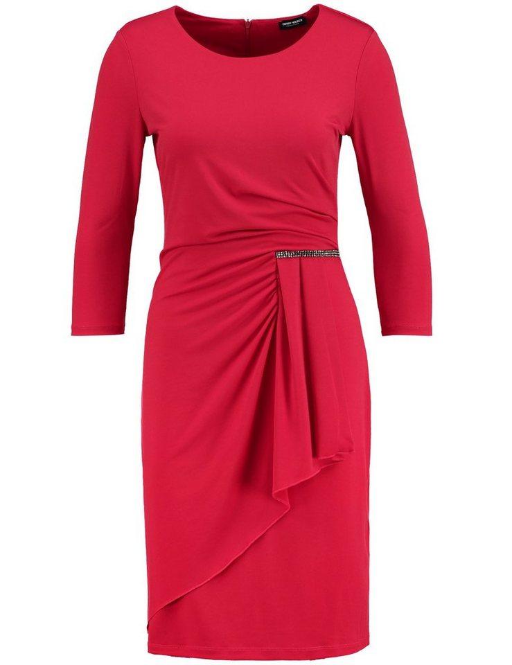 Gerry Weber Kleid Gewirke »Kleid mit seitlichem Drapée« in Rot