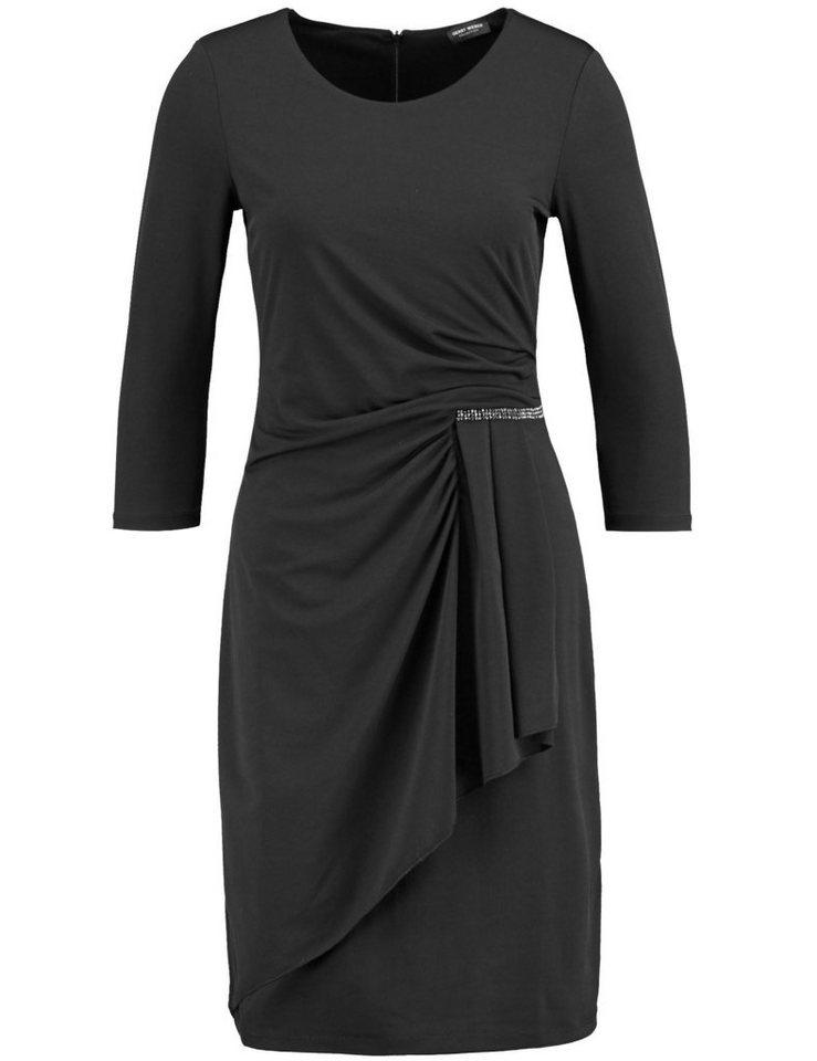 Gerry Weber Kleid Gewirke »Kleid mit seitlichem Drapée« in Schwarz
