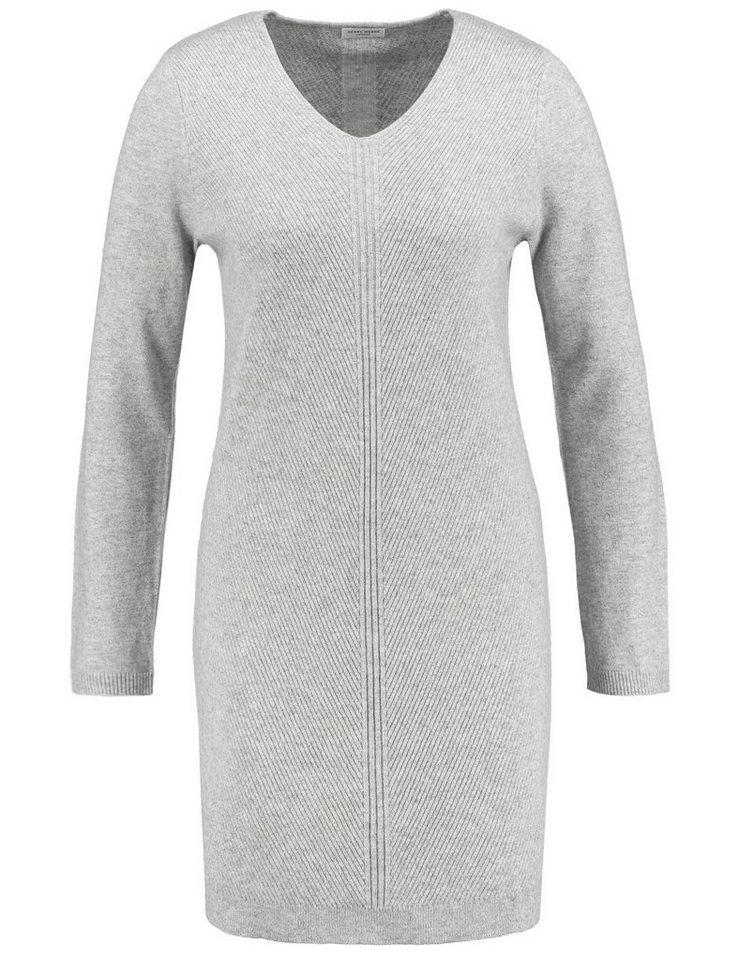 Gerry Weber Kleid Strick »Kleid aus hochwertigem Strick« in Marble-Melange