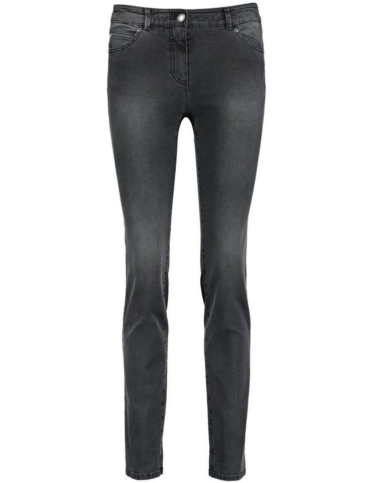 Gerry Weber Hose Jeans lang »5-Pocket Jeans« in Schwarz Schwarz Deni