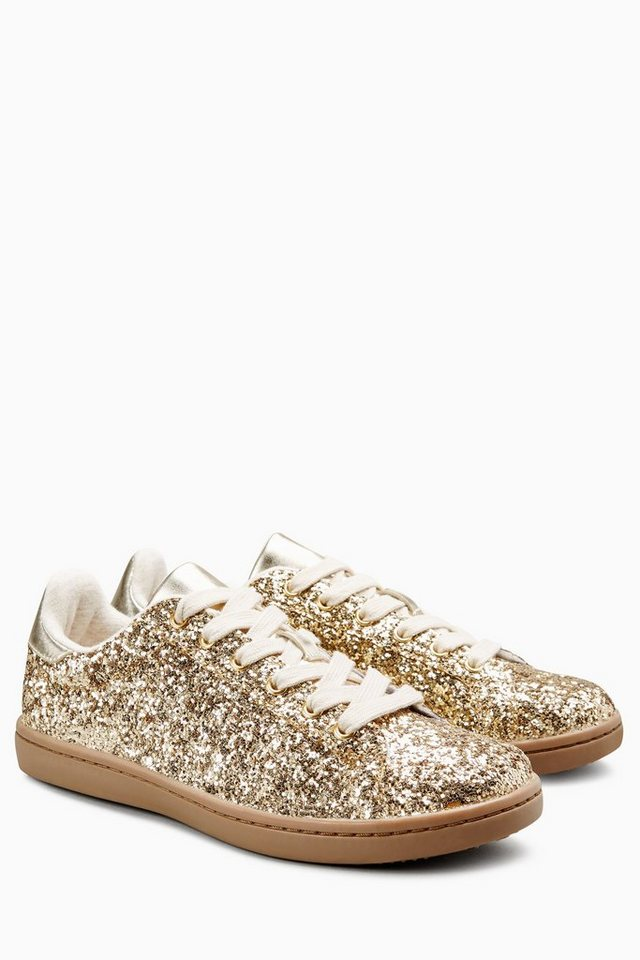 Next Glitzer-Sneaker in Gold