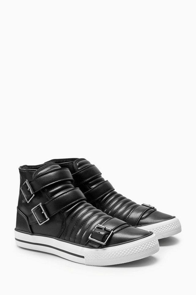 next hoher sneaker mit schnallendetails kaufen otto. Black Bedroom Furniture Sets. Home Design Ideas