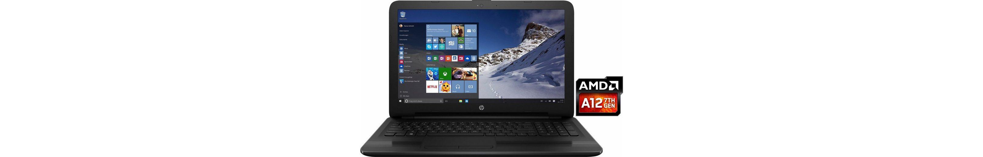 HP 15-ba066ng Notebook, AMD Quad Core, 39,6 cm (15,6 Zoll), 1000 GB Speicher, 8192 MB DDR4-SDRAM