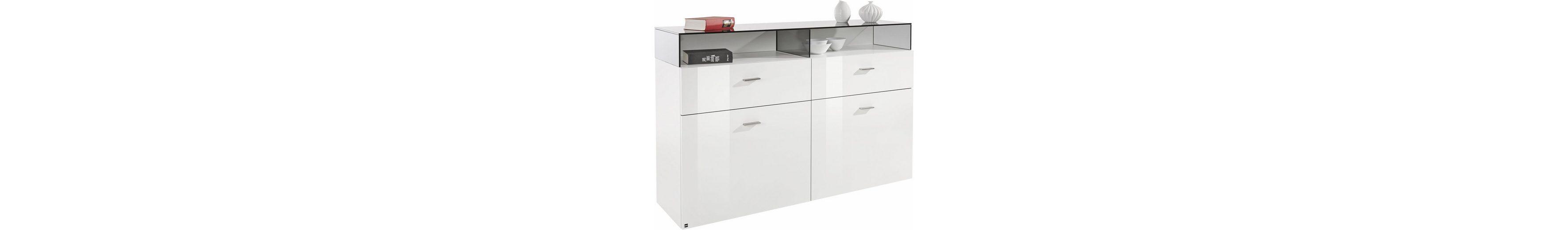 now! by hülsta Sideboard »now! no. 14« mit Glashaube, Breite 140 cm
