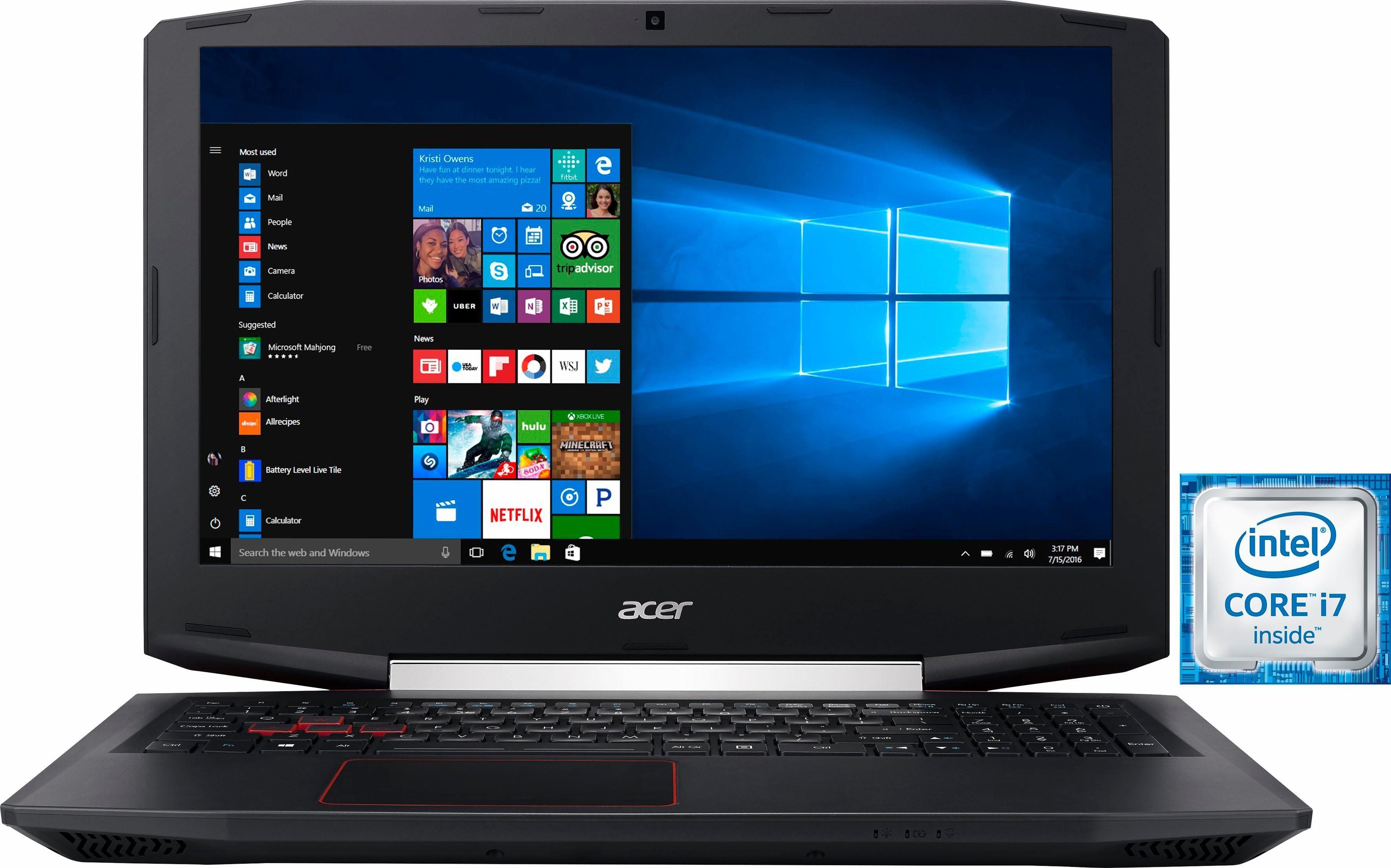 Acer VX5-591G-71F7 Notebook, Intel® Core™ i7, 39,6 cm (15,6 Zoll), 1512 GB Speicher