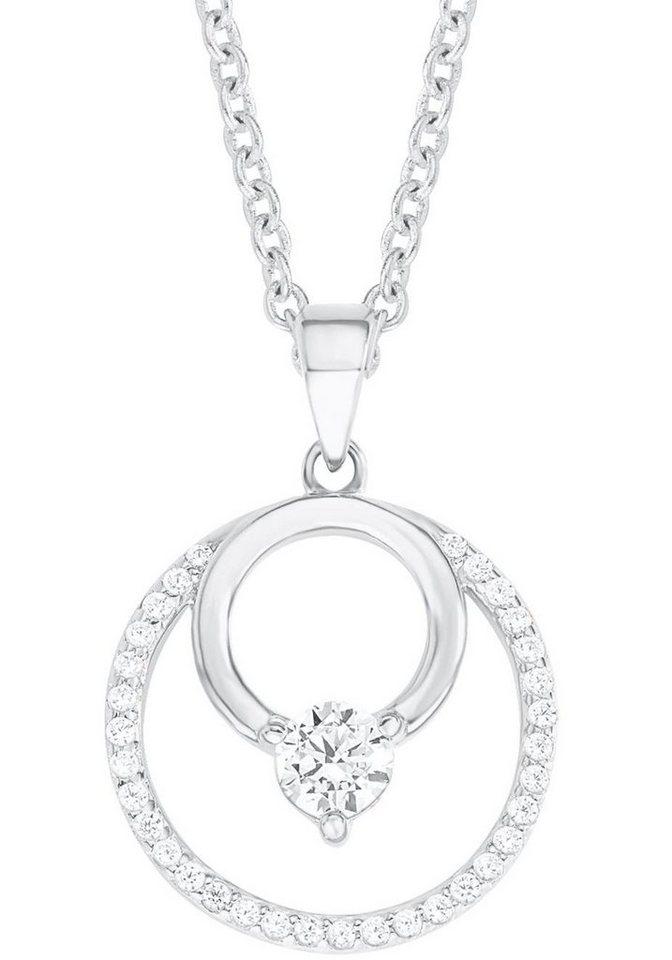 s.Oliver RED LABEL Silberkette »2012640« mit Zirkonia in Silber 925