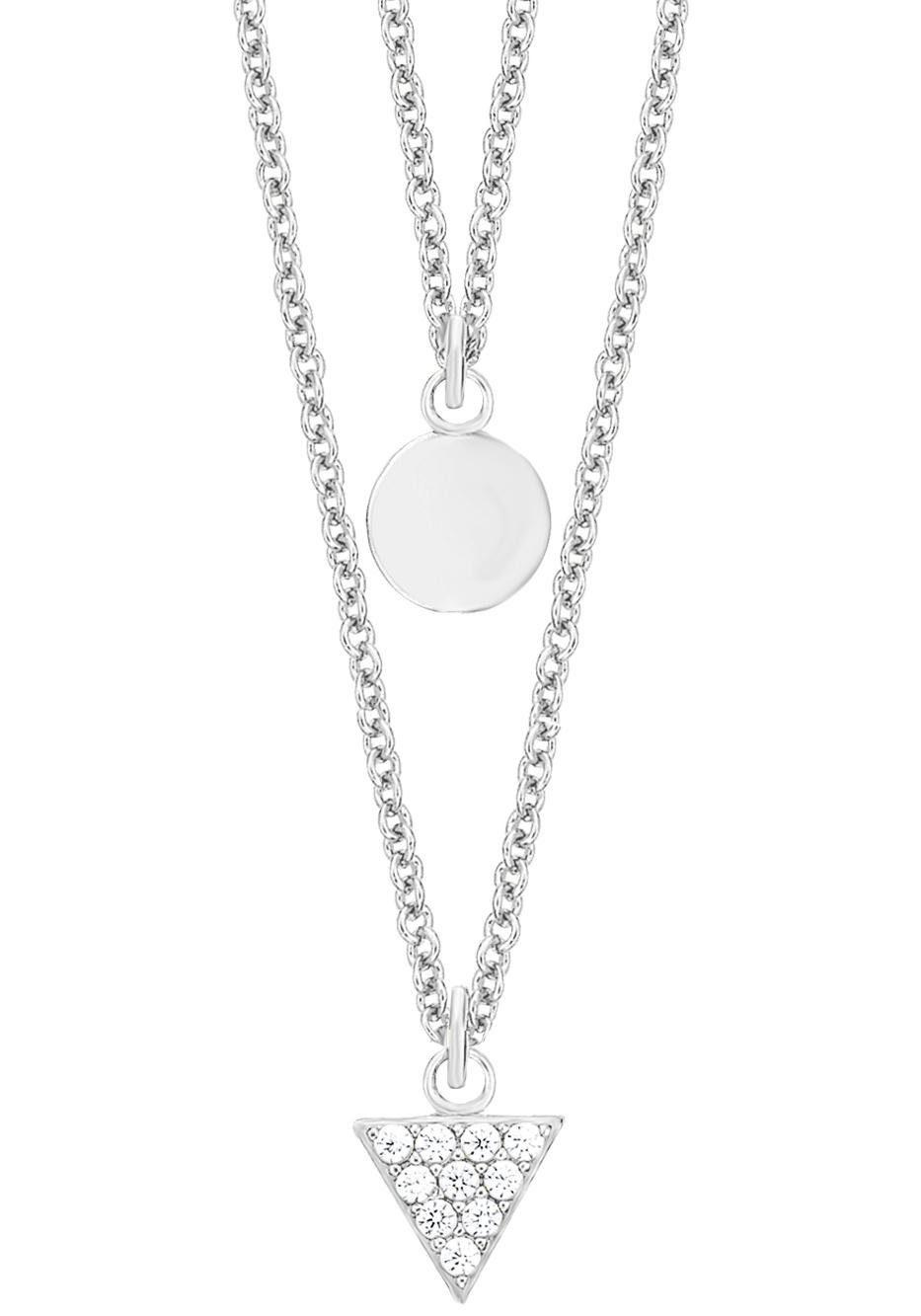 s.Oliver RED LABEL Silberkette »2012499« mit Zirkonia