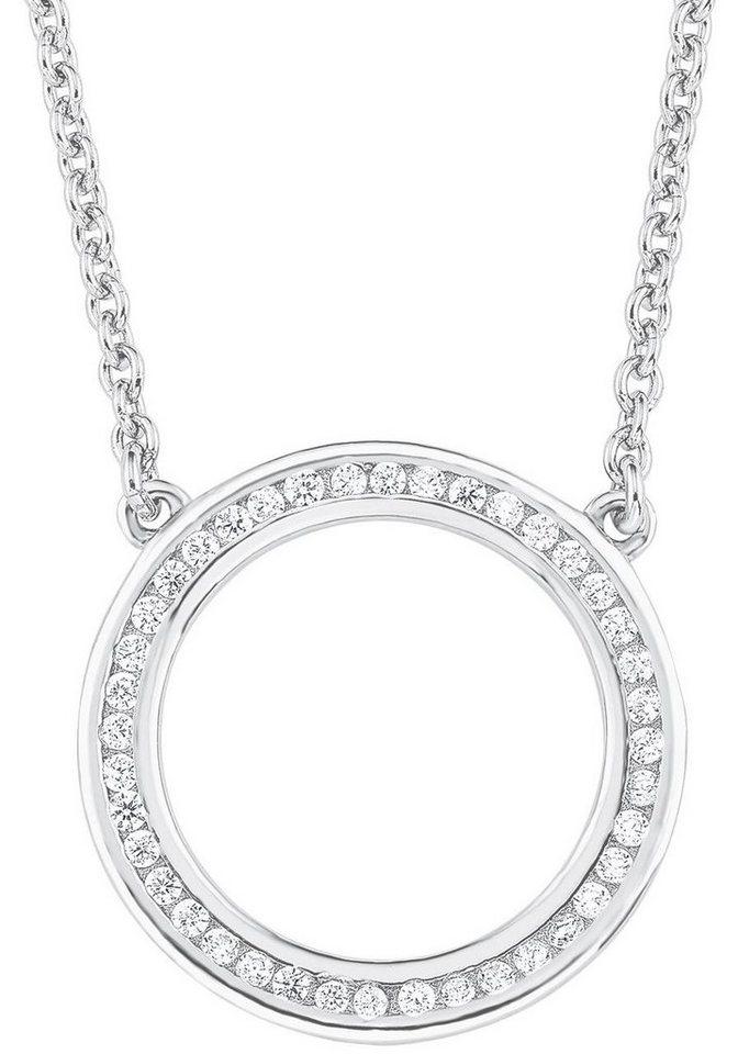 s.Oliver RED LABEL Silberkette »2012496« mit Zirkonia in Silber 925