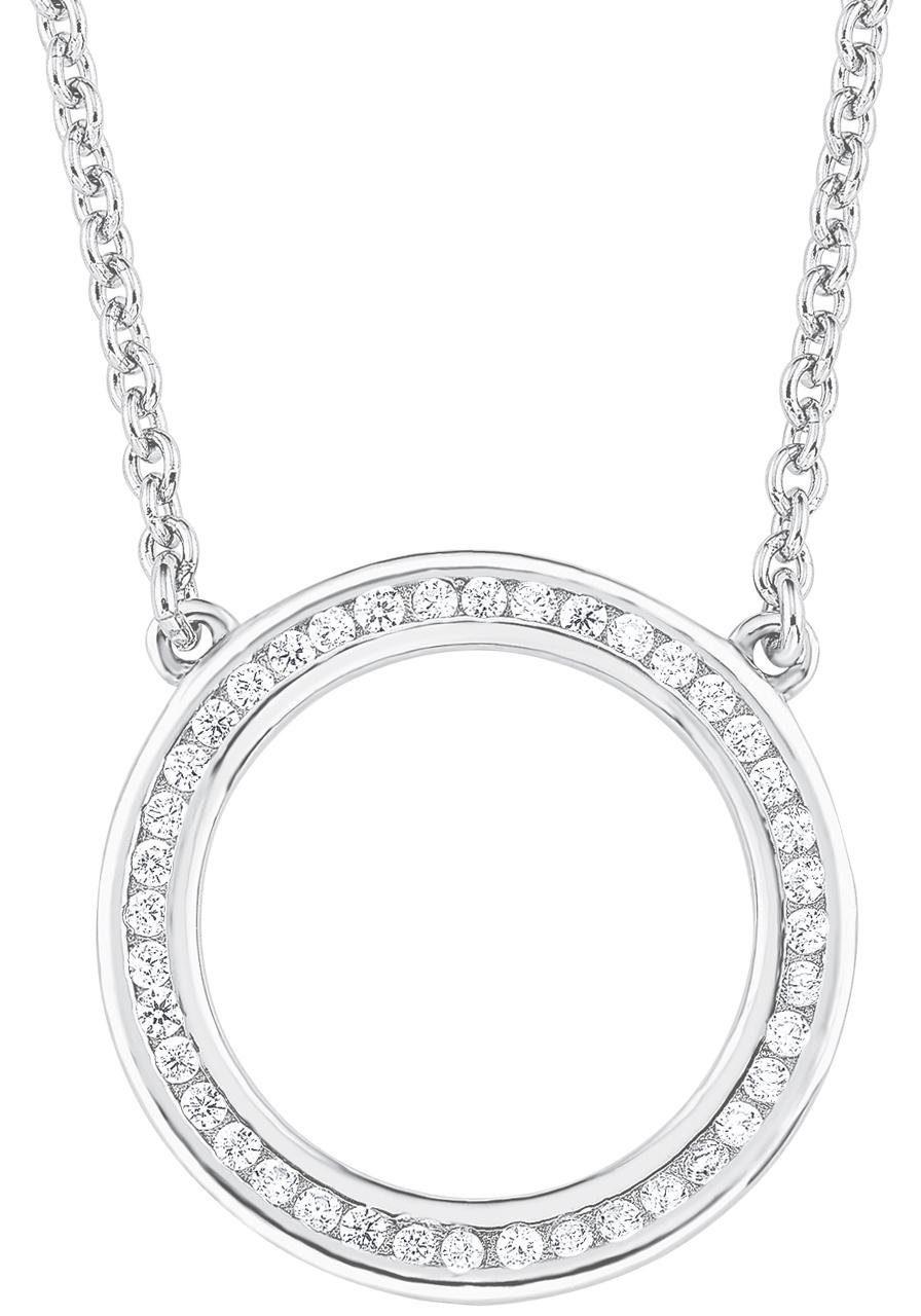 s.Oliver RED LABEL Silberkette »2012496« mit Zirkonia
