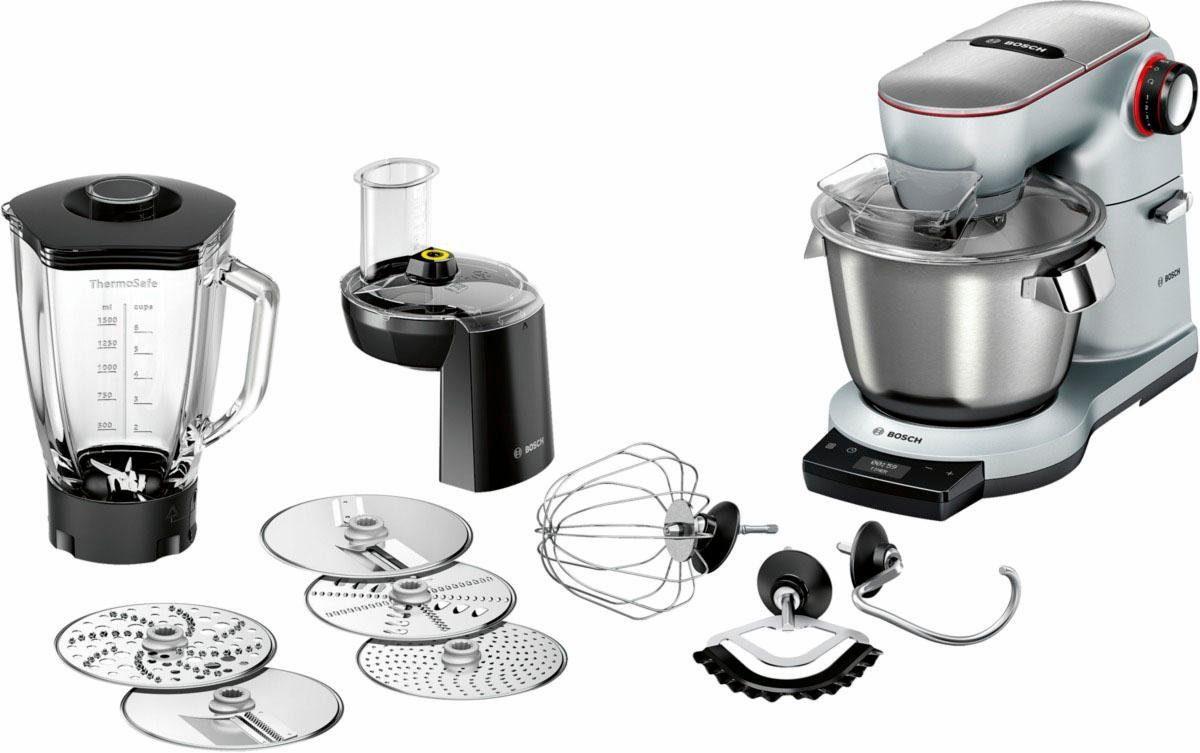 Bosch Küchenmaschine OptiMUM MUM9DT5S41, 5,5 Liter, 1500 Watt, aus Aluminium Druckguss