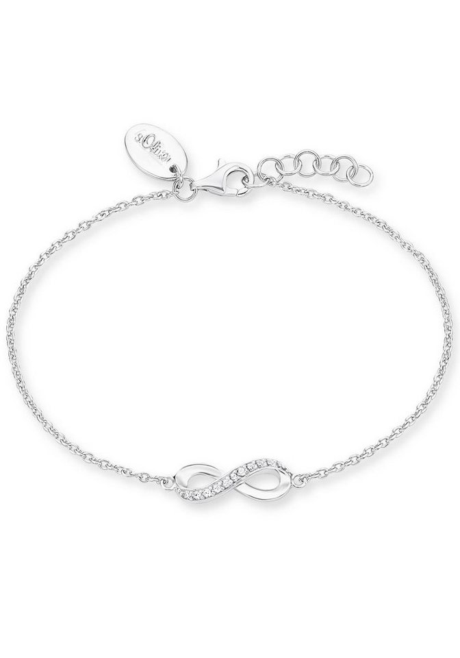 s.Oliver RED LABEL Armband »Infinity, 2012529« mit Zirkonia in Silber 925