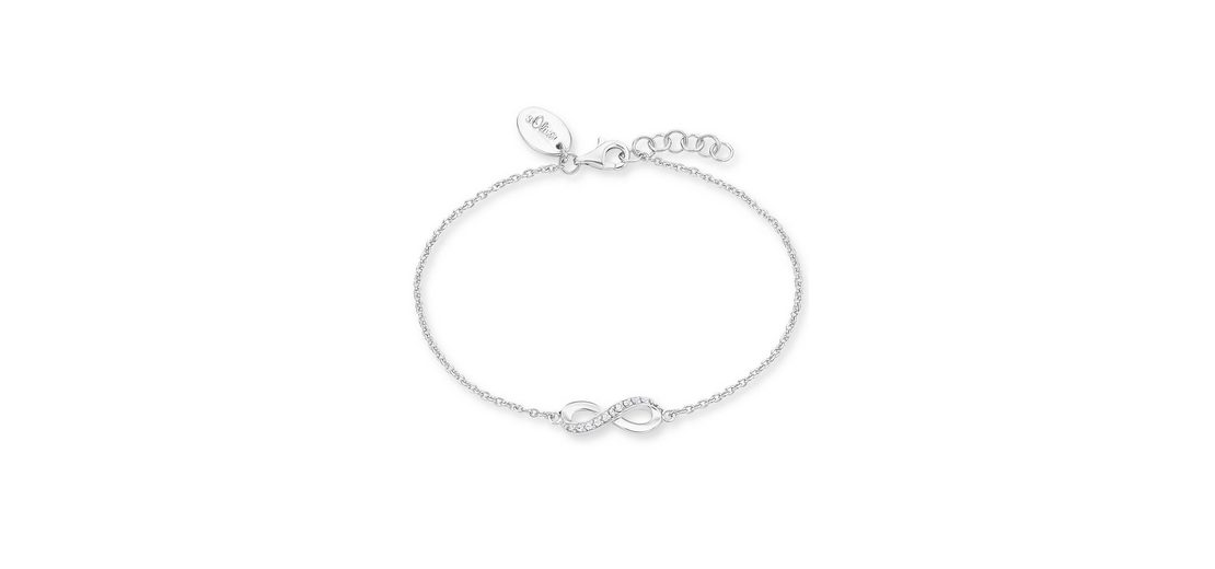 s.Oliver RED LABEL Armband »Infinity, 2012529« mit Zirkonia