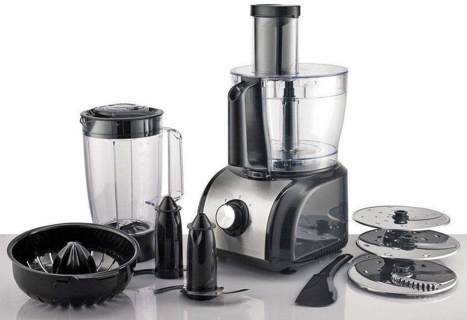 Gorenje Küchenmaschine SB800B, 1,5 Liter, 800 Watt, edelstahl-schwarz in edelstahl-schwarz