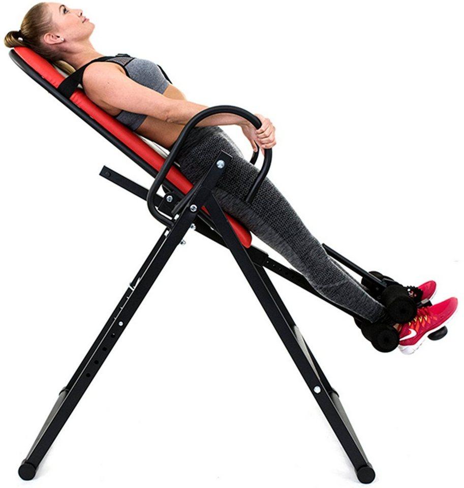 Christopeit Sport® Rückentrainer, »Explorer« in schwarz-rot