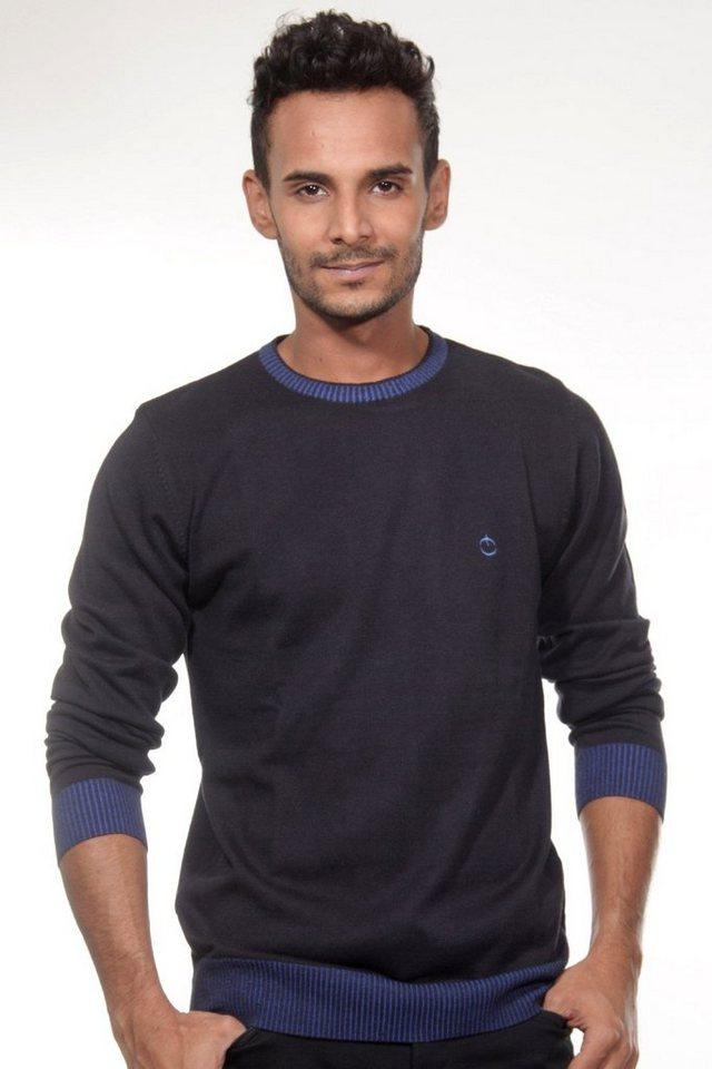 CAZADOR Pullover regular fit in navy