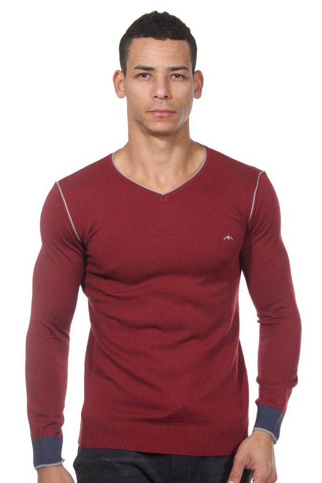 CAZADOR Pullover regular fit in rot
