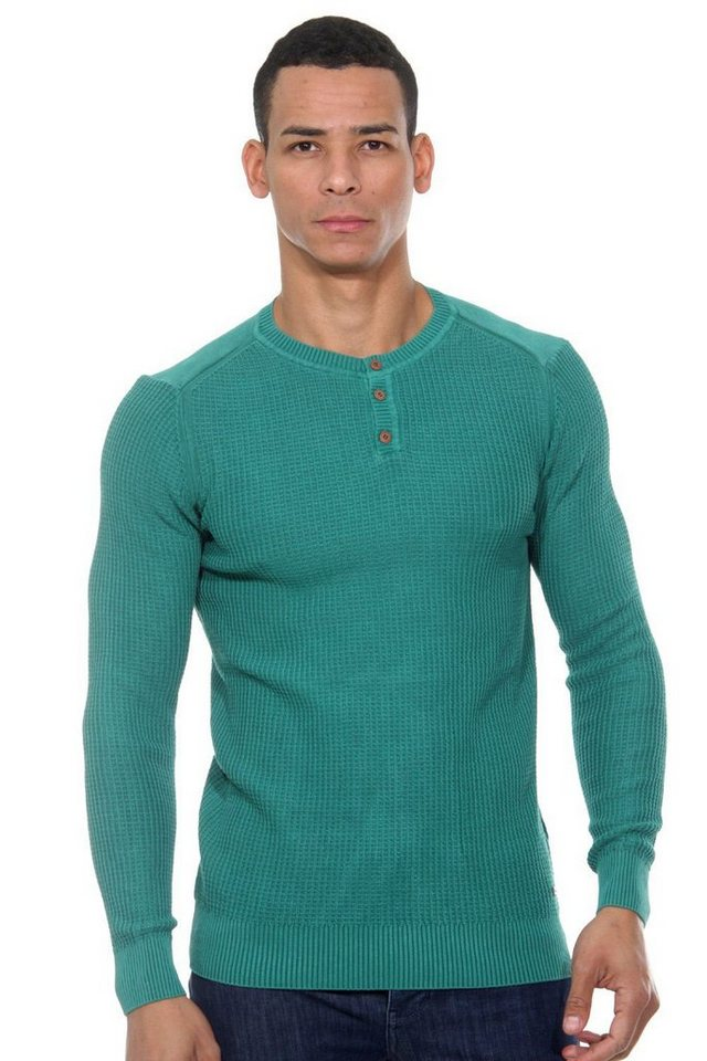 CAZADOR Pullover regular fit in grün