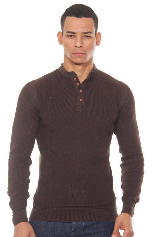 CAZADOR Sweater slim fit in braun