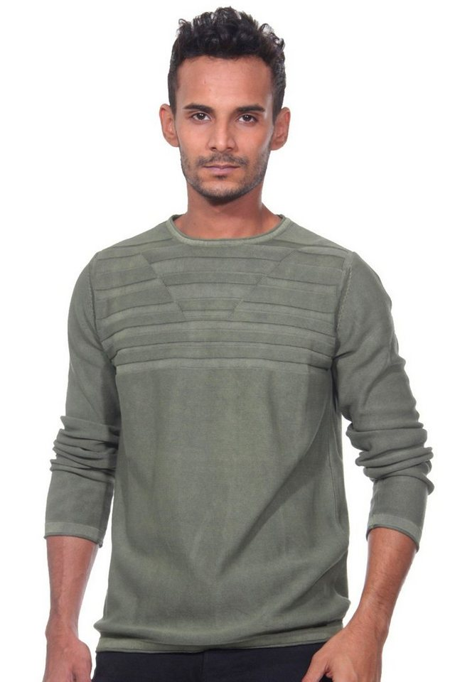 CAZADOR Pullover regular fit in oliv