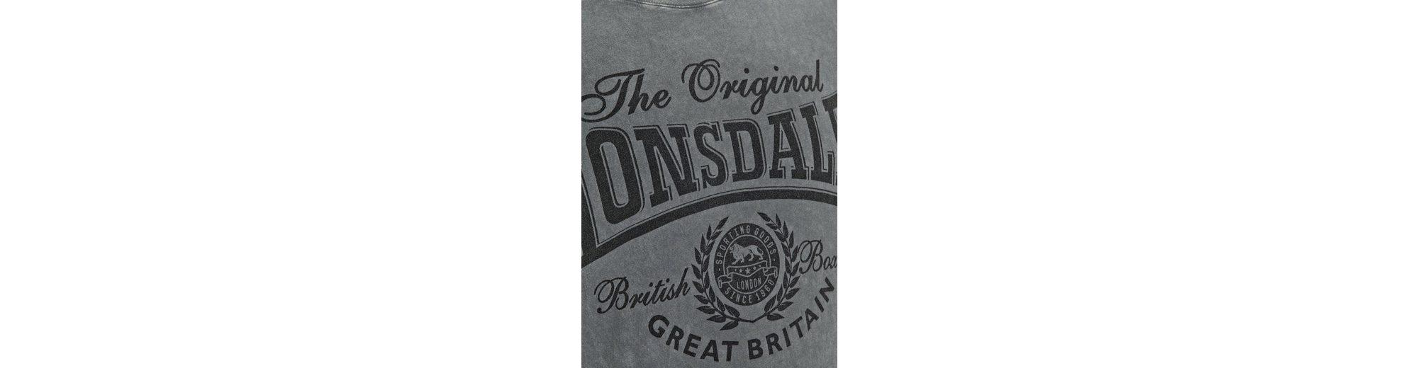 Spielraum Browse Vorbestellung Für Verkauf Lonsdale T-Shirt mit Frontprint WENDOVER Kauf Steckdose Mit Paypal uPO272X