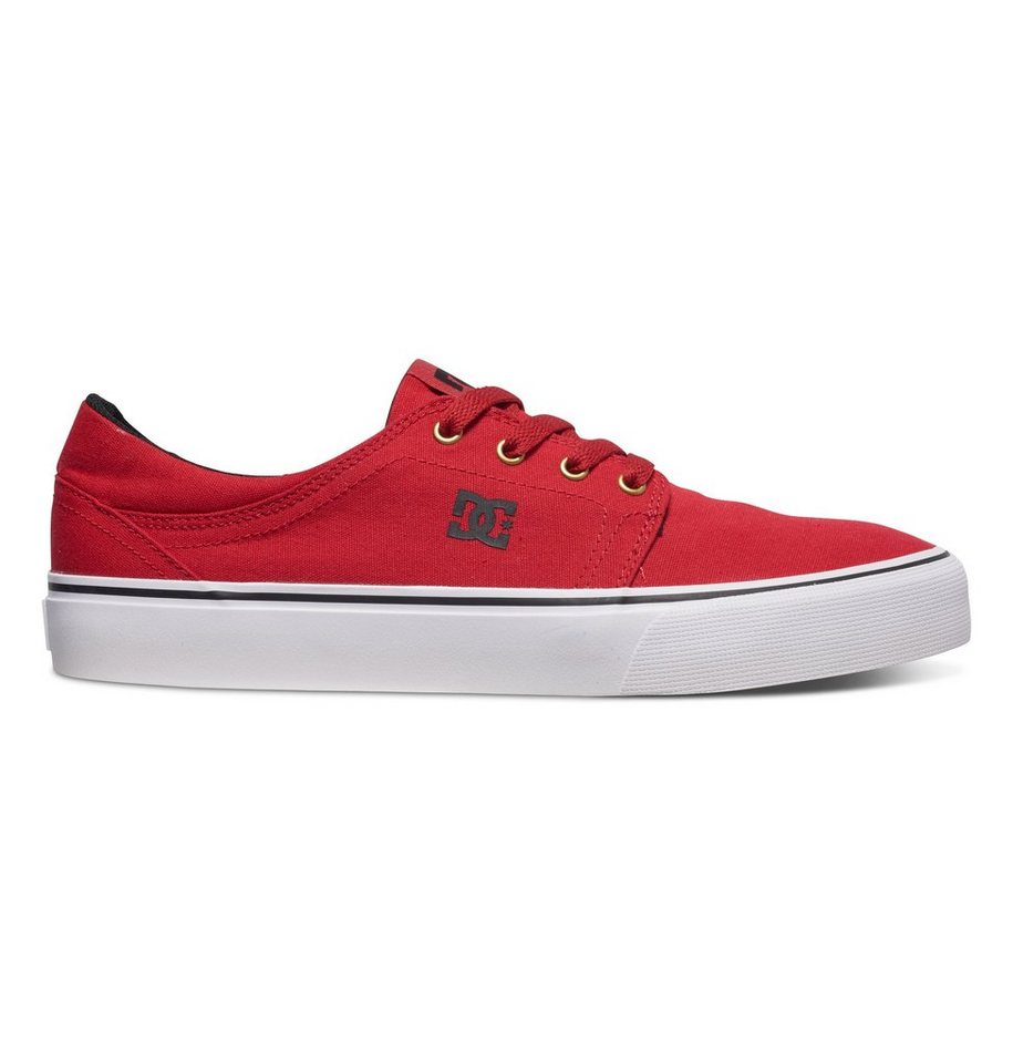 DC Shoes Low top »Trase TX« in Red/gold