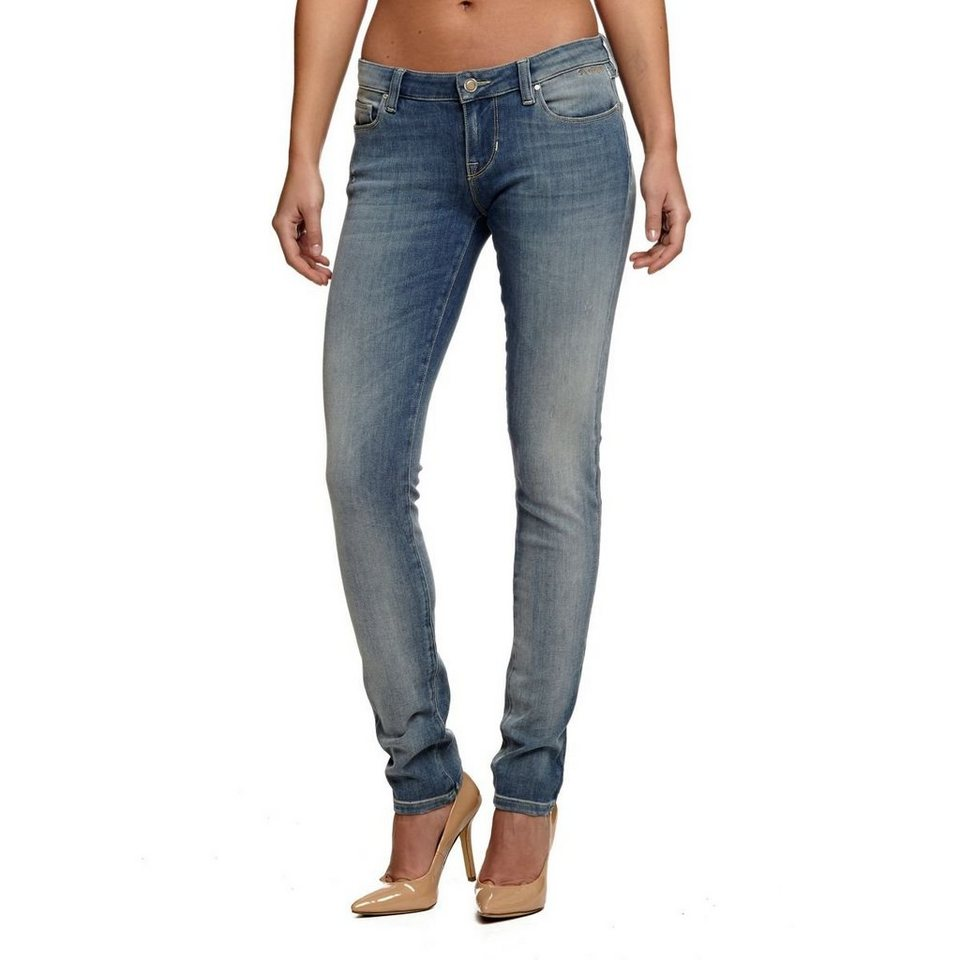 Guess JEANS SKINNY USED 4WAY STRETCH in Blau