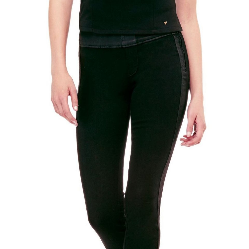 Guess PUSH-UP-JEGGINGS in Schwarz