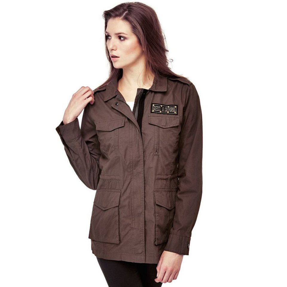 Guess MILITARY-JACKE in Grün